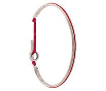Armreif mit rotem Band