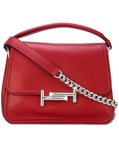 135667d7a2444 TOD S Damen Kleine Handtasche mit  Double T -Schnalle Wiki Günstig Online  Rabatt Beste