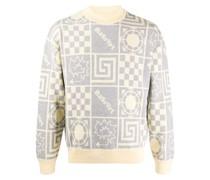 Rassvet mix-jacquard sweater