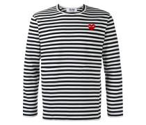 Langarmshirt mit Breton-Streifen