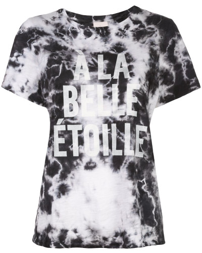 """T-Shirt mit """"À la Belle Etoile""""-Print"""