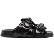Sandalen mit Rosendetail