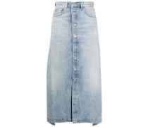 'Mirror' Jeans-Midirock