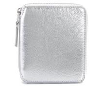 Metallisch glänzendes Portemonnaie mit