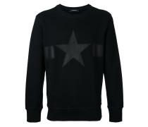 - Sweatshirt mit Stern-Patch - men - Baumwolle - L