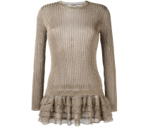 Pullover mit gerüschtem Saum - women