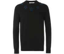 Pullover mit aufgestickten Sternen - men