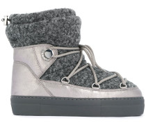 padded snow boots