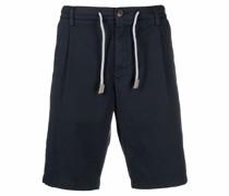 drawstring straight-leg chino shorts