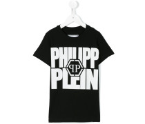 - T-Shirt mit Print - kids - Baumwolle - 4 J.