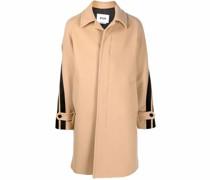 Mantel mit verdrehten Streifen