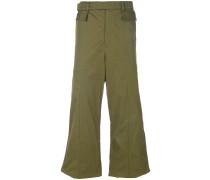 wide-leg long trousers