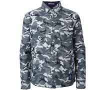 Gefütterte Jacke mit Camouflagemuster