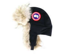 fur lined flight hat