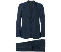 two-piece pinstripe suit