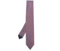 jacquard pattern tie