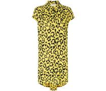 Hemdkleid mit Gepard-Print