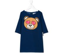 Kleid mit Teddy-Bär-Print