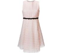 Kleid mit Kontrastdetail