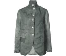 curved hem jacket