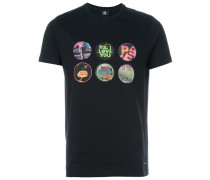 T-Shirt mit Multi-Print