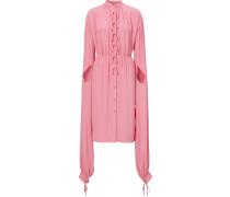 Kleid mit gerollten Ärmeln