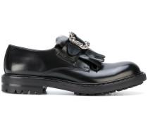 Loafer mit Zierschnalle