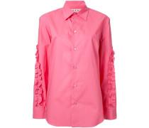 Gerüschtes Hemd - women - Baumwolle - 46