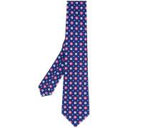 - floral print tie - men - Seide - Einheitsgröße