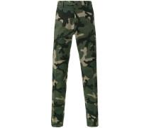 Chinos mit Camouflage-Print - men