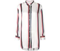 bold stripe sleep shirt