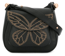 studded butterfly shoulder bag