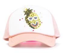 pineapple print baseball cap