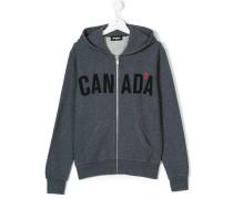 Canada zipped hoodie