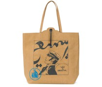 Shopper mit Comic-Print