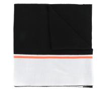 intarsia logo scarf
