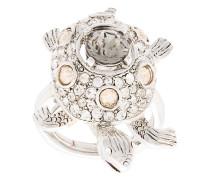 Crystal Turtle ring