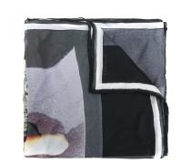Madonna print scarf