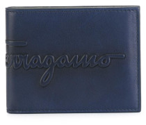 embossed logo ID wallet
