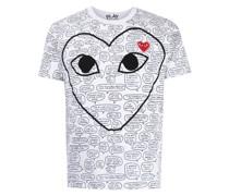 Speech Bubble T-Shirt mit Herz