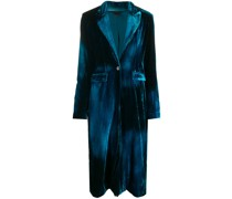 Mantel mit schmalem Schnitt