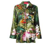 Seidentop mit floralem Print - women - Seide - S