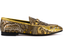 Jordaan floral brocade loafers