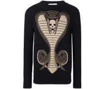 Pullover mit Kobra
