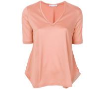 metallic detailing blouse