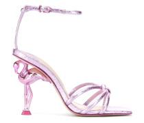 Sandalen mit Flamingo-Absatz