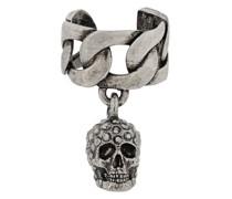 'Skull Charm' Ohrring