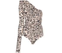 Body mit Leoparden-Print