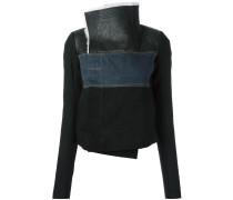Jacke mit Jeanseinsatz