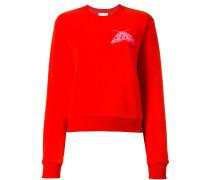 Sweatshirt mit Fliegen-Print